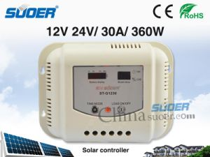 Suoer 12V 30A PWM Solar Charge Controller (ST-G1230) pictures & photos