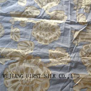 Poly Lurex Clip Fabric, Poly Lurex Jacquard Fabric. Poly Lurex Fabric pictures & photos