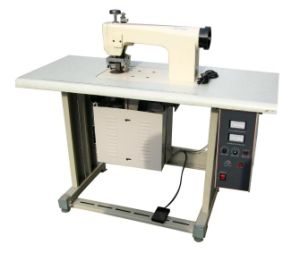 Ultrasonic Lace Seamless Sewing Machine for Non Woven Fabrics Lace Making and Sewing, Ce Approved pictures & photos