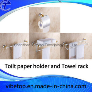 High Quality Bathroom Stainless Steel Wall Mounted Type Towel Rack pictures & photos
