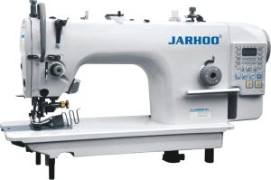 Jarhoo-5200dB Direct-Drive Side Cutter Computer Lockstitch Sewing Machine with Cutter and Wrapping (integration of cutting and wrapping)