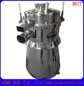 Pharmaceutical Foodstuff Machine Vibrating Screener with Meet GMP Standards (ZS-350) pictures & photos