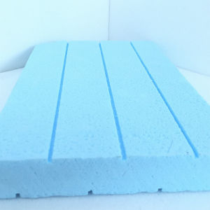 Fuda Extruded Polystyrene (XPS) Foam Board B1 Grade 300kpa Blue 20mm Thick Slotted