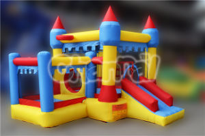 Residential Inflatable Combo House Bouncer Slide with Ball Pit Qb113 pictures & photos
