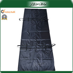 Custom Design 210d Durable Mortuary Plastic Body Bag pictures & photos