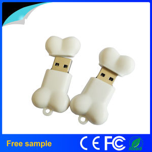 Custmoized Cartoon Cute PVC Bone Shape USB Flash Drive 4GB pictures & photos