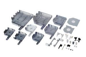 45 Degree Aluminum End Cap/ Side Frame, for Roller Shutter pictures & photos