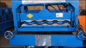828 Color Steel Glazed Tile Roll Forming Machine pictures & photos