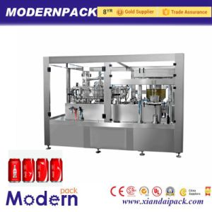 Aluminum Canned Beverage Soda Beer Soft Drinks Filler Machine pictures & photos