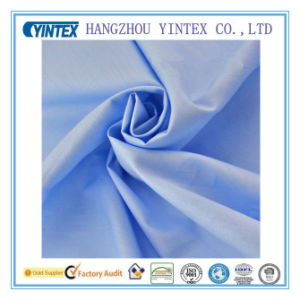 Antibacterial Light Blue 100% Cotton Twill Fabric for Baby′s Bedding pictures & photos
