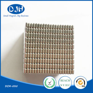 Permanent Sintered Cylinder Magnetic Material for Moto (DCM-034) pictures & photos