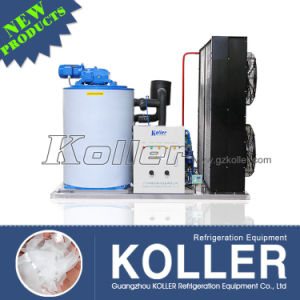 Koller 3 Tons Dry Flake Ice Machine for Cooling Purpose in Supermarket pictures & photos