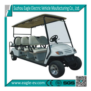 Electric Golf Car, 8 Seat with Rear Foldable Seat, Eg2069ksz pictures & photos
