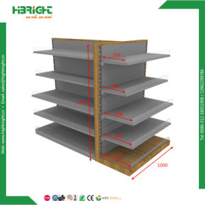 Metal Supermarket Shelf Display Store Fixture pictures & photos