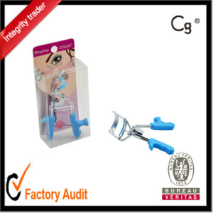 Promotion Blue Color Plastic Handle Electric Eyelash Curler pictures & photos