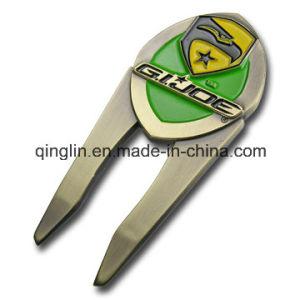 Customized Plating Color Metal Golf Repair Divot Tool pictures & photos