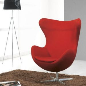 Egg Leisure Leather Chair for Office Living Room pictures & photos