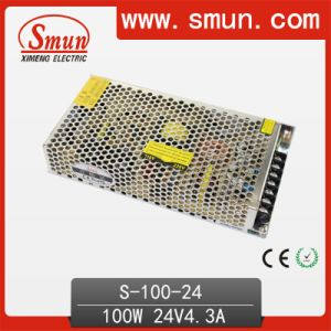 100W 24V AC-DC Enclosed Switching Power Supply with Ce RoHS pictures & photos