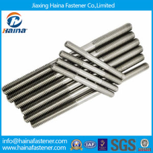 High Tension A2 A4 Stainless Steel Stud Bolt Double pictures & photos