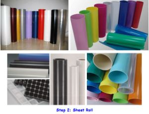 Mono-Layer PP/PS Plastic Sheet Extrusion Machinery pictures & photos
