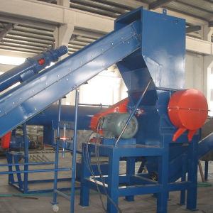 300kg/H Waste PP PE Film and Bags Recycling Crushing Washing and Drying Line
