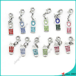 Metal Mobile Phone Charms Pendant (SPE)