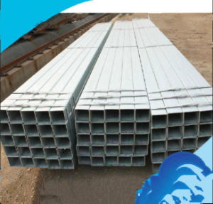 50X50mm Hot DIP Galvanized Steel Pipe/Square Steel Pipe/Tube pictures & photos