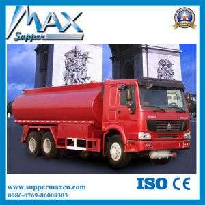 China Sinotruck HOWO Oil Tank Transport Truck Manufacturers Fuel Tank Truck pictures & photos