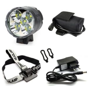CREE Xm-L 5LED T6 Bicycle Front Light Headlight 7000 Lumen Bike Light Lamp Headlamp pictures & photos