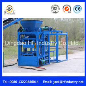 Qt4-26 Small Semi Automatic Fly Ash Brick Block Making Machine for Sale pictures & photos