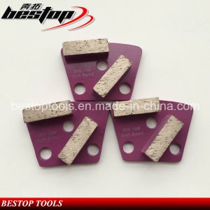 Trapezoid Diamond Pad Grinding Wing with 2 Segmentsplate Type pictures & photos