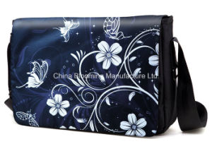 Butterfly iPad Sling Crossbody Doucument Satchel Shoulder Messenger Bag pictures & photos