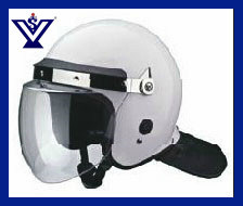 African Style Military Anti Riot Helmet with Metal Grid (SYSG-206) pictures & photos
