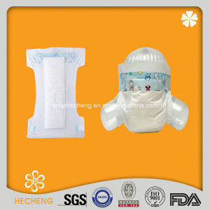 PE Baby Diaper Without Leak Guard pictures & photos