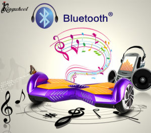 Fashion Mini Lithium Battery 6.5 Inch Bluetooth and Loudspeaker Music Self-Balance E Scooter (KW-A002S)