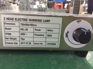 HCl-2 2head Warming Lamp (with thermostat) pictures & photos