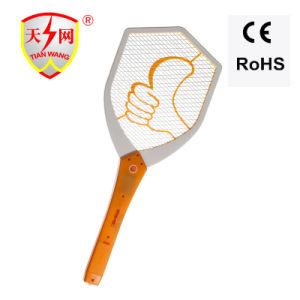 High Voltage High Quality Mosquito Swatter with 2AA Batteries pictures & photos