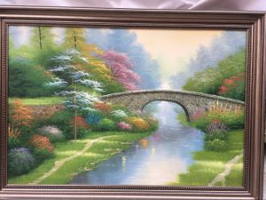 Factory Wholesale 100% Hand Oil Painting pictures & photos