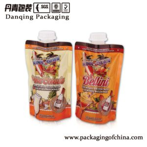 Nice Printing Special Shape Stand up Pouch with Spout (DQ01112) pictures & photos