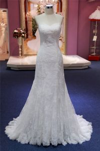 Sweetheart Lace Mermaid Prom Bridal Wedding Dress pictures & photos