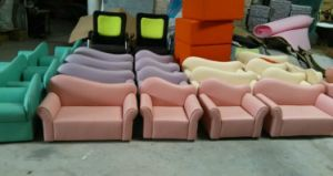 Children Furniture Kids Letter Sofa for Sale (SF-89C) pictures & photos