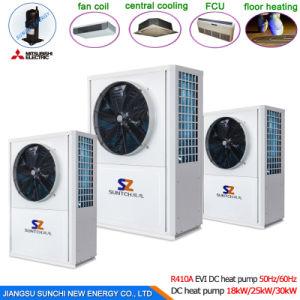 Cop4.23 19kw, 35kw Mono Block Heat Pump Water Heater pictures & photos