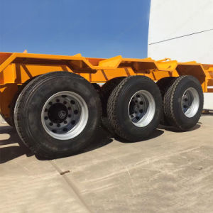 Three Axles 40FT Container Carrier Skeleton Semi-Trailer for Africa pictures & photos