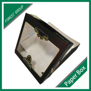 Food Grade Paper Cake Box with PVC Window pictures & photos