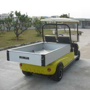 White Color 2 Seat Electric Cargo Car pictures & photos