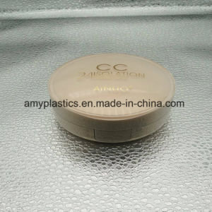 Round Empty Bb or Cc Case / Container / Cosmetic Packaging / Box / Packing with Mirror pictures & photos