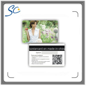 PVC Magnetic Stripe Card with Qr Code pictures & photos