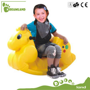 Tricolor Deer /Elephant/Animal Cartoon Series for Children Rocking Horse pictures & photos