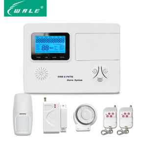 GSM&PSTN Alarm System with 99 Wireless 4 Wired Zones pictures & photos