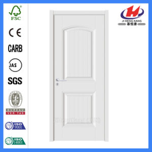 Interior HDF Molded Carve White Primer Door (JHK-S04) pictures & photos